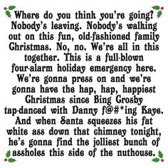 Christmas Vacation Clark Rant Quotes. QuotesGram by @quotesgram