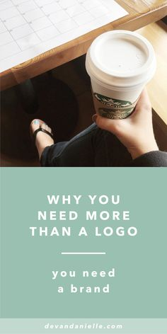 Why you need more than a logo. You need a brand. By Devan Danielle — Your logo is just a tiny piece of what helps make your brand + business successful. There are so many other key elements that play a factor in the overall success of your brand, and you need to know how to execute all of those pieces. The three main elements I teach my clients about when it comes to establishing your overall brand are: your voice, your vision, and your visuals.