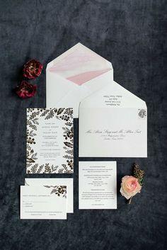 Wedding Stationery, Wedding Invitations, Trinity River, Envelope Liners, Dallas Texas, Real Weddings, Wedding Day, Glamour, Masquerade Wedding Invitations
