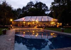 CALIFORNIA: BEAULIEU GARDEN  After you exchange vows in the sunken garden next to a pool dotted with lily pads, you'll dance the night away beneath a sycamore arbor twinkling with fairy lights.