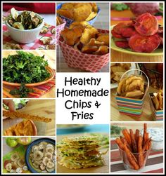 15 Healthy Alternatives to Potato Chips - The Dinner-Mom #glutenfree #vegetarian