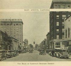 Old Gaston County ~ Main Ave. Gastonia NC