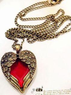 Colar Coração Romântico