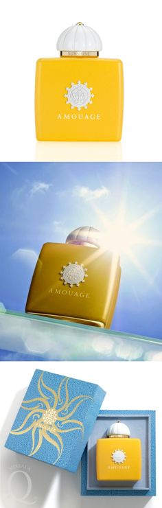 Amouage | SUNSHINE for Woman /new/ Bright and joyful, the first Eau de Parfum in the 'Midnight Flower Collection' #Amouage #Sunshine