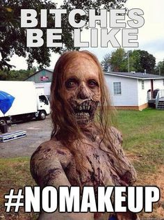 The Walking Dead, zombie humor - That's exactly how I look every morning...