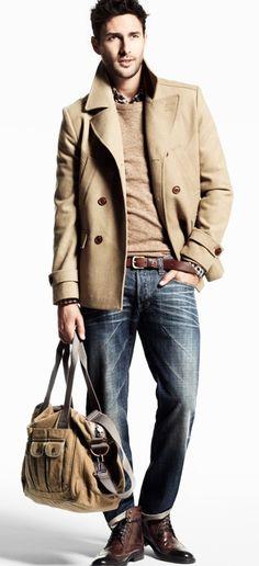 Great jacket, simple colour palette! #streetstyle #menswear