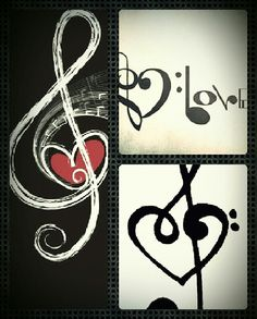 Music collage for my strong love of music. By Marisa Taylor