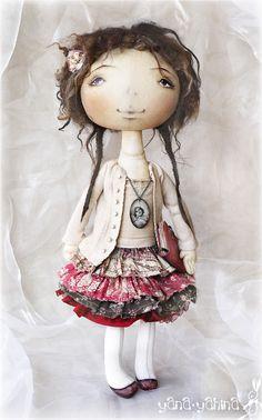 Текстильные куклы в наивном стиле Яны Яхиной (ч.1). Обсуждение на LiveInternet - Российский Сервис Онлайн-Дневников