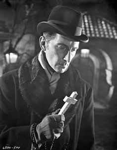 Peter Cushing as Doctor van Helsing in Horror of Dracula (1958)