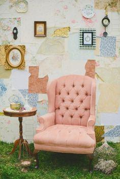 Wonderland Inspired Bridal Shower | Ruffled