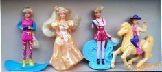 Mcdonald´s Barbie panenky 1995