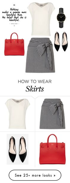 """""""Work"""" by cnease on Polyvore featuring Miss Selfridge, Alberto Biani, MANGO, Off-White and ROSEFIELD"""