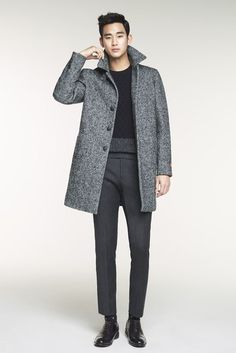 nice Kim Soo Hyun for winter collection ZIOZIA 2014