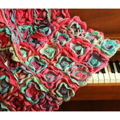 Summer Melody Balnket Crochet pattern by Yarntwist