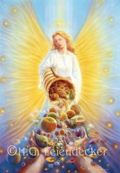 HGLeiendecker Angel of Abundance