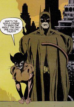Batman & Catwoman by Tim Sale
