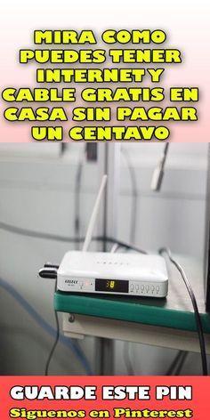 Mira Como Puedes Tener Internet Y Cable Gratis En Casa Sin Pagar Un Centavo Remedios Al Minuto Como Tener Internet Trucos Para Whatsapp Antenas Para Tv