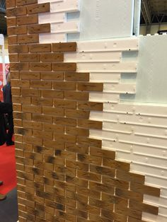 Brick slip cladding - either external or with an internal feature wall.