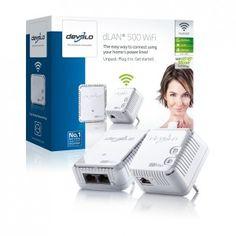 Devolo dLAN 500 WiFi ab sofort verfügbar! Wi Fi, Computer, Starter Kit, Usb Flash Drive, Technology, Ab Sofort, Bridge, Blog, Home Network