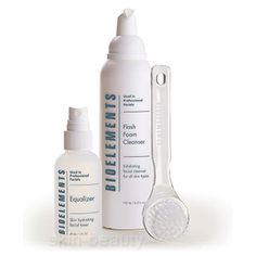 Bioelements Fresh Faced Combination Skin Cleansing Kit - 3 pcs -Bioelement Fresh Faced Combination Skin Cleansing Kit gives your daily cleanse an extra hand – with a professional cleaning brush and hydrating toner It is a deeper daily cleanse for scrupulously smooth, refreshed and renewed skin.