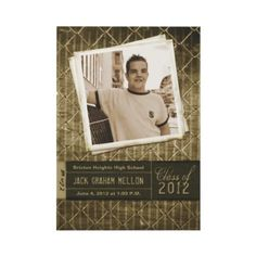 Class of 2012 Trendy Grunge Graduation Invitations by The Spotted Olive™.