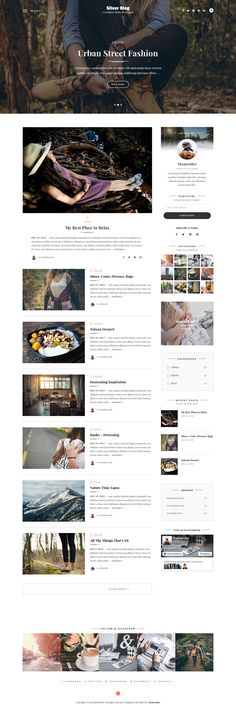 Silver Blog - A Simple WordPress Blog Theme. Live Preview & Download: http://themeforest.net/item/silver-blog-a-simple-wordpress-blog-theme/14404195?ref=ksioks