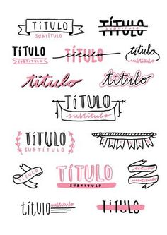 Bullet journal and notes titles inspo Bullet Journal School, Bullet Journal Headers, Bullet Journal Ideas Pages, Bullet Journal Inspiration, Bullet Journals, Daily Journal, Bullet Journal Ideas Handwriting, Handwriting Ideas, Bullet Journal Font