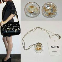 Look Nature consiguelo en www.myleov.es #bolsos #moda #look #accesorios #tiendaonline #myleov #especial #collar #pendientes