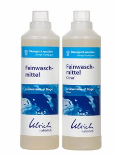 Nervous about your delicates? #Ulrich has the answer with their fantastic, vegan laundry detergent