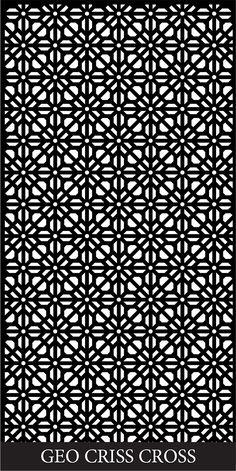 GEO CRISS CROSS http://www.decorativescreensdirect.com.au/gallery/