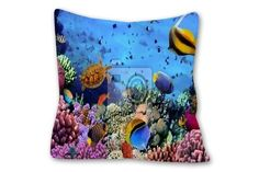 Coral Reef Pillows take your bedroom decor under the seas. See our Coral Reef designs at http://www.visionbedding.com/Pillows/CoralReef.php