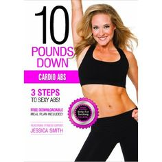 Do you have your 3-step guide to sexy abs yet?? Get it now on Amazon.com - 10 Pounds Down: Cardio Abs DVD [free downloadable meal plan included!]