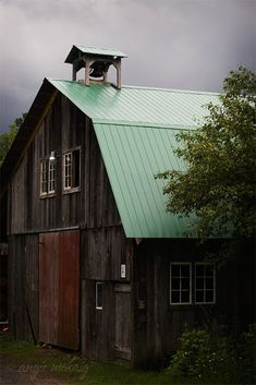 old barn with new roof
