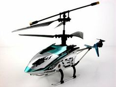 """JXD 4 Ch Indoor Infrared RC Gyroscope Helicopter """"Drift King"""" - Colors May Vary 