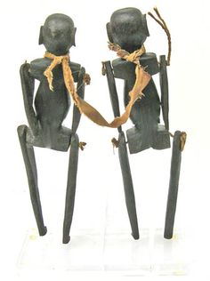 African art puppets from Tanzania