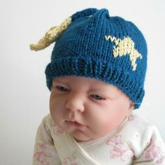 You are my little Star! hand knitted Baby hat by handmadefuzzy for $18.00