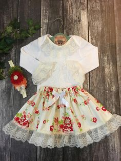 Floral Baby Outfit Baby Girl Dresses Girls By Lillybugcreationstoo