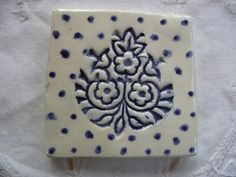Azulejos de cerámica hechos a mano  diseño de la por tigercattiles