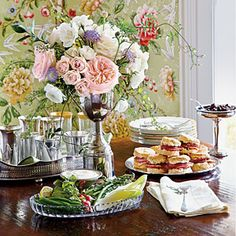 The Perfect #KentuckyDerby Party Menu | SouthernLiving.com