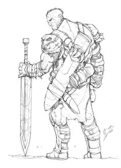 Monster Hunter by Max-Dunbar