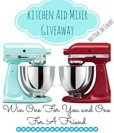 Kitchen Aid Giveaway! Enter at { lilluna.com }