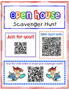 Transforming Teaching and Learning with iPads: iPad Activity: Open House Scavenger Hunt