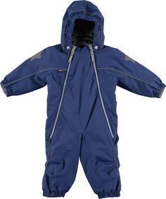 Pyxis - Estate Blue - blå vind- og vandtæt baby flyverdragt