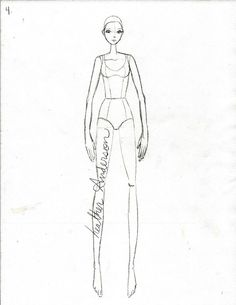 How to Draw Fashion Illustrations by Heather at Clothed Much Modest Fashion Blog