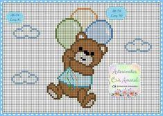 Cross Stitch House, Simple Cross Stitch, Cross Stitch Baby, C2c Crochet, Crochet Baby, Filet Crochet, Easy Crochet, Cross Stitch Designs, Cross Stitch Patterns