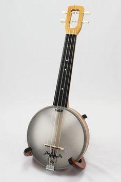 Firefly Soprano Banjo Ukulele (Maple)