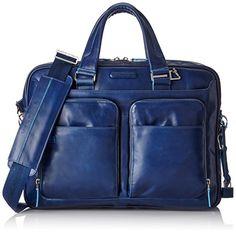 Piquadro  Blue Square 15 '' Aktentasche mit Laptop-Fach, Blau - CA2849B2 - http://herrentaschenkaufen.de/piquadro/blau-piquadro-blue-square-15-aktentasche-mit-fach