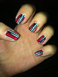 Messy stripes