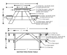 Picnic Table Plans Picnic Table Plans Attractive Picnic Table In Just One  Weekend This Old House General Contractor Tom Silva Shows A Simple Way To  ...
