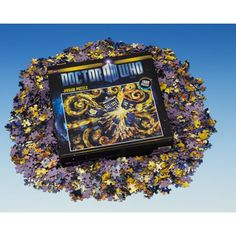 Doctor Who: Starry Night TARDIS Jigsaw Puzzle | Doctor Who Shop Expect to feel enormously satisfied after you fit these 1,000 pieces together. In Doctor Who: Series 5, Vincent Van Gogh paints his vision of the TARDIS exploding in the starry French night. Although the disaster never happens thanks to the Doctor's intervention, Van Gogh's vision gives you an out-of-this-world perspective on his famous masterpiece. Helps keep guests and Doctor Who fans happily occupied.